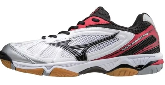 Sepatu Mizuno Wave Hurricane 3 White Black Volly Olahraga Sport (Tony  Sneakers). Harga Sepatu Volly Mizuno Original ... 7759bda076