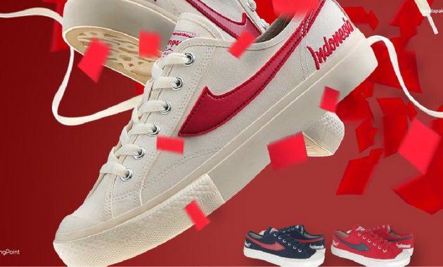 Asal negeri sepatu di produksi